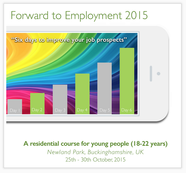Forward to employment course